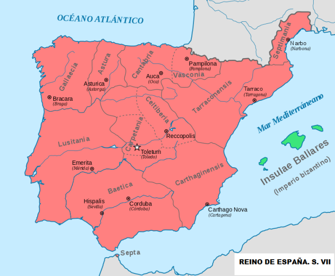 REINO DE ESPAÑA S.VII