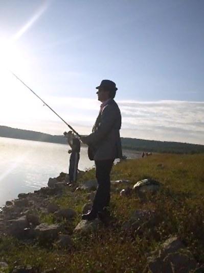 de pesca grande